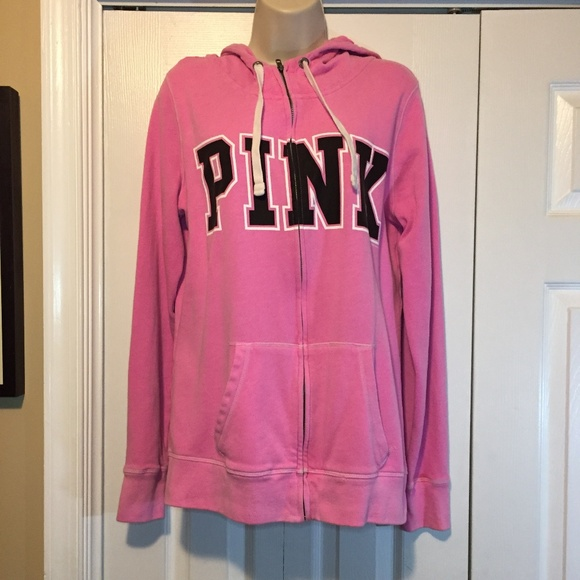 cb7d308dc8a49 CLEARANCE Victoria's Secret PINK Zip Hoodie